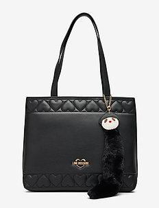 FUR DOLLS CHAIN - fashion shoppers - black