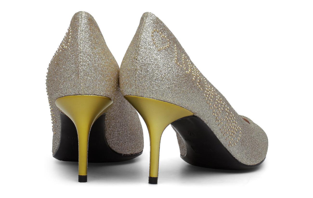 Love Moschino Love Moschino Shoes (Glitter Platina)