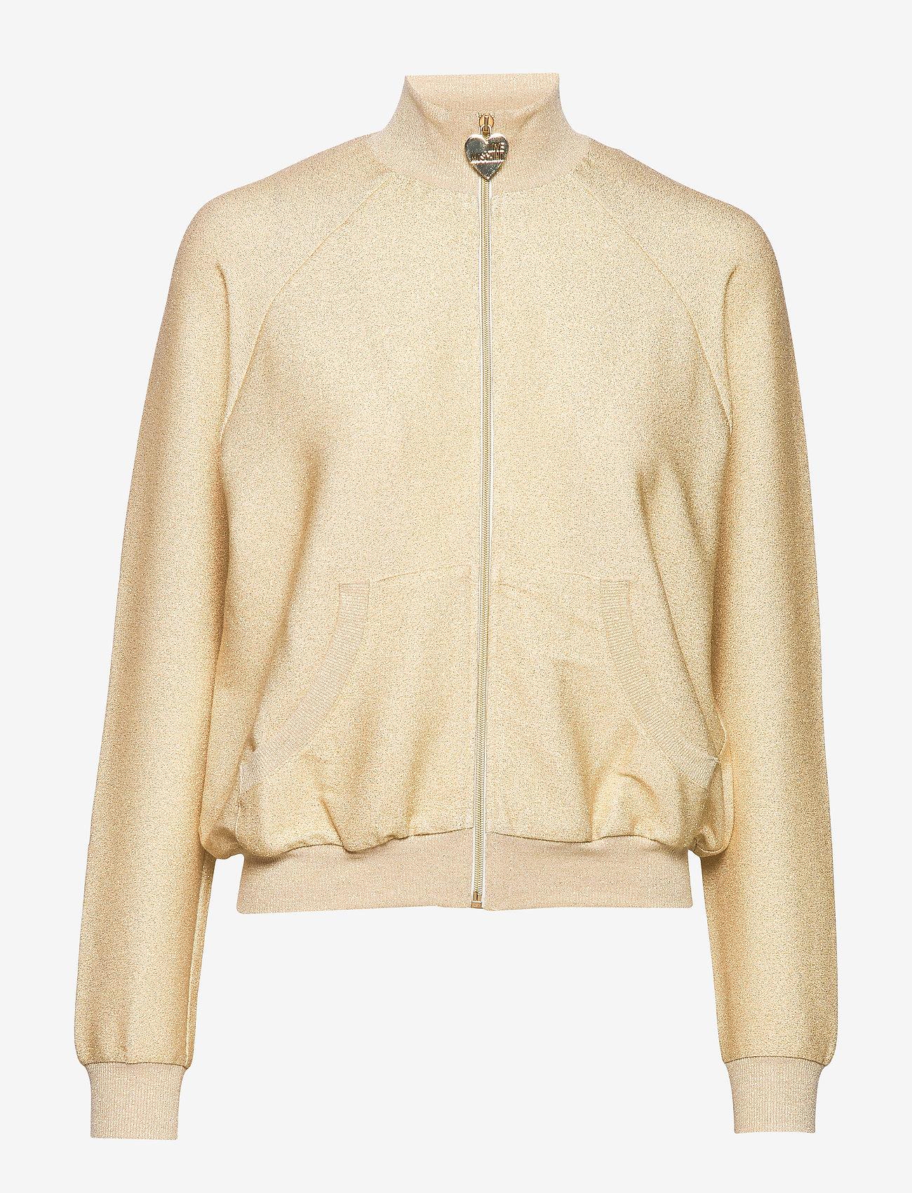 Love Moschino - W337600E2110 - bomber jakker - beige gold - 0