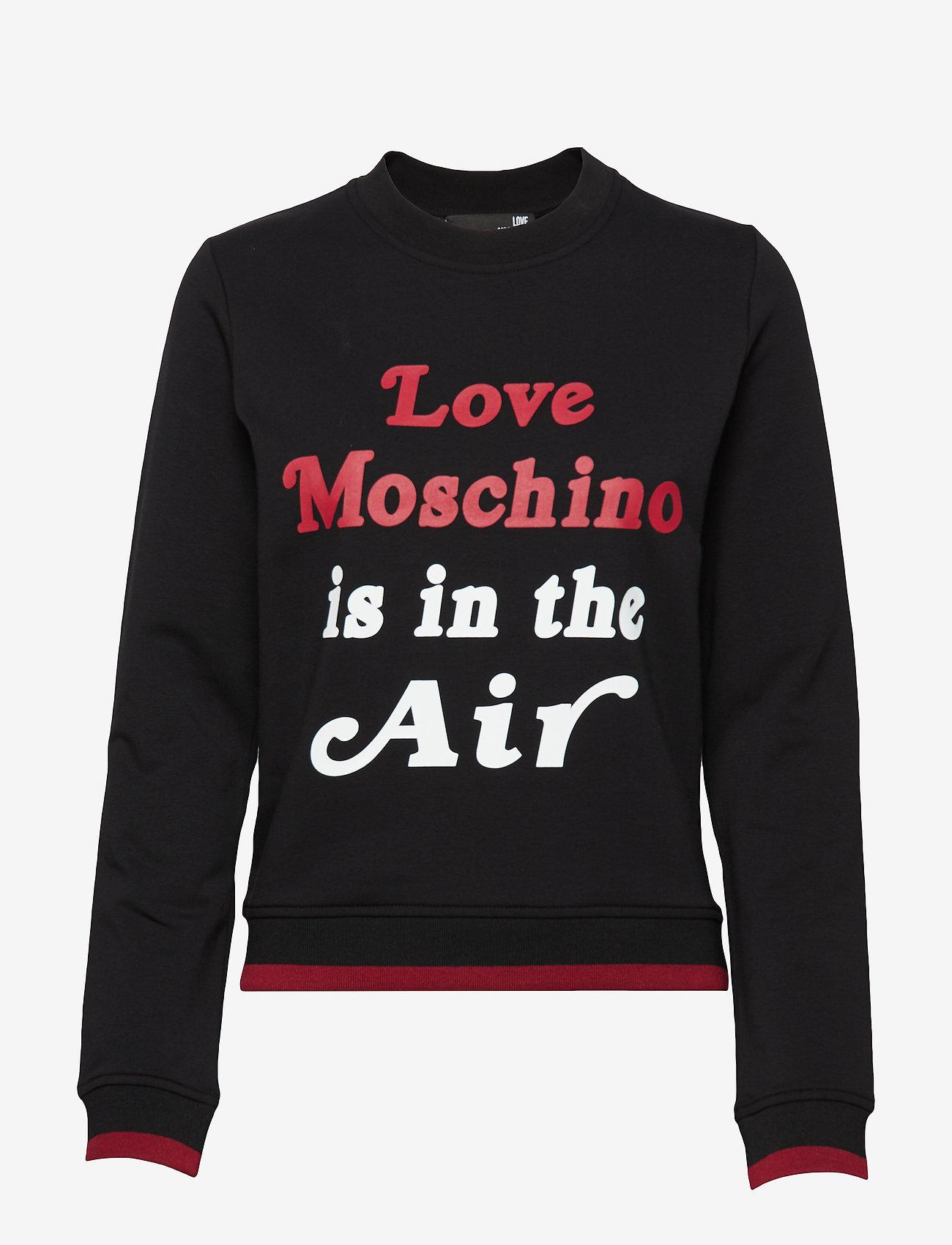 Love Moschino - W630211E1958 - svetarit - black