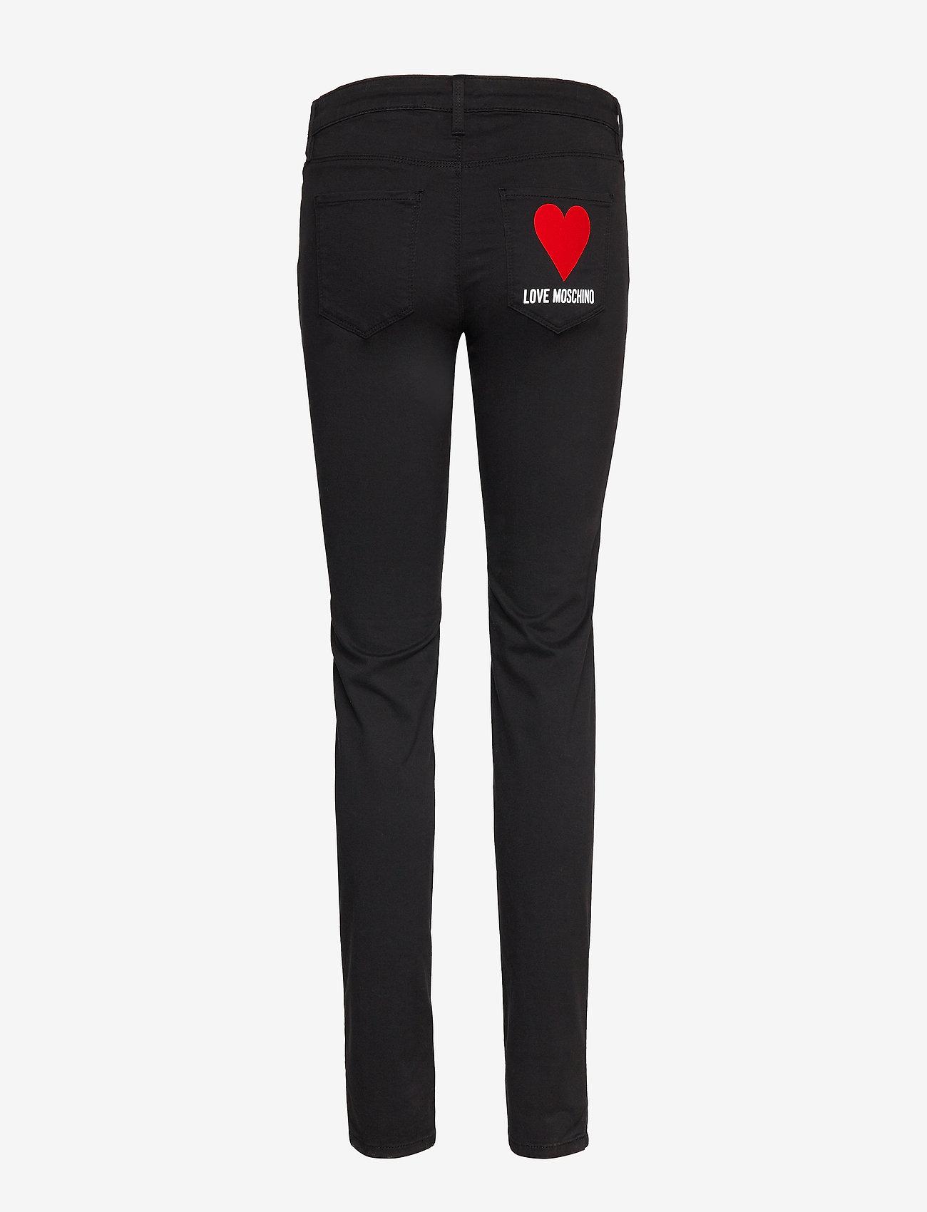 Love Moschino - WQ38739S3300 - skinny farkut - black