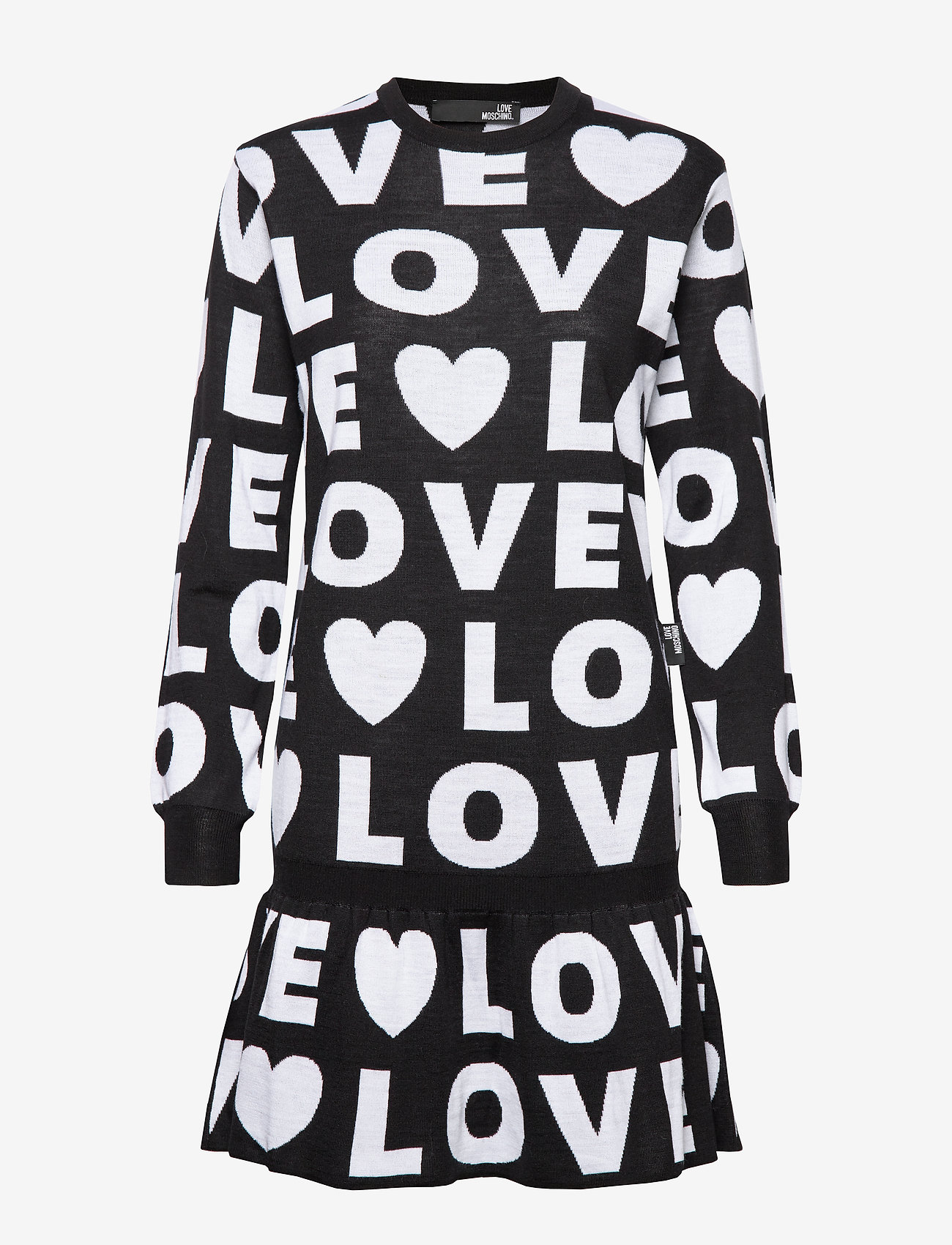 Love Moschino - WSR7610X0377 - lyhyet mekot - black