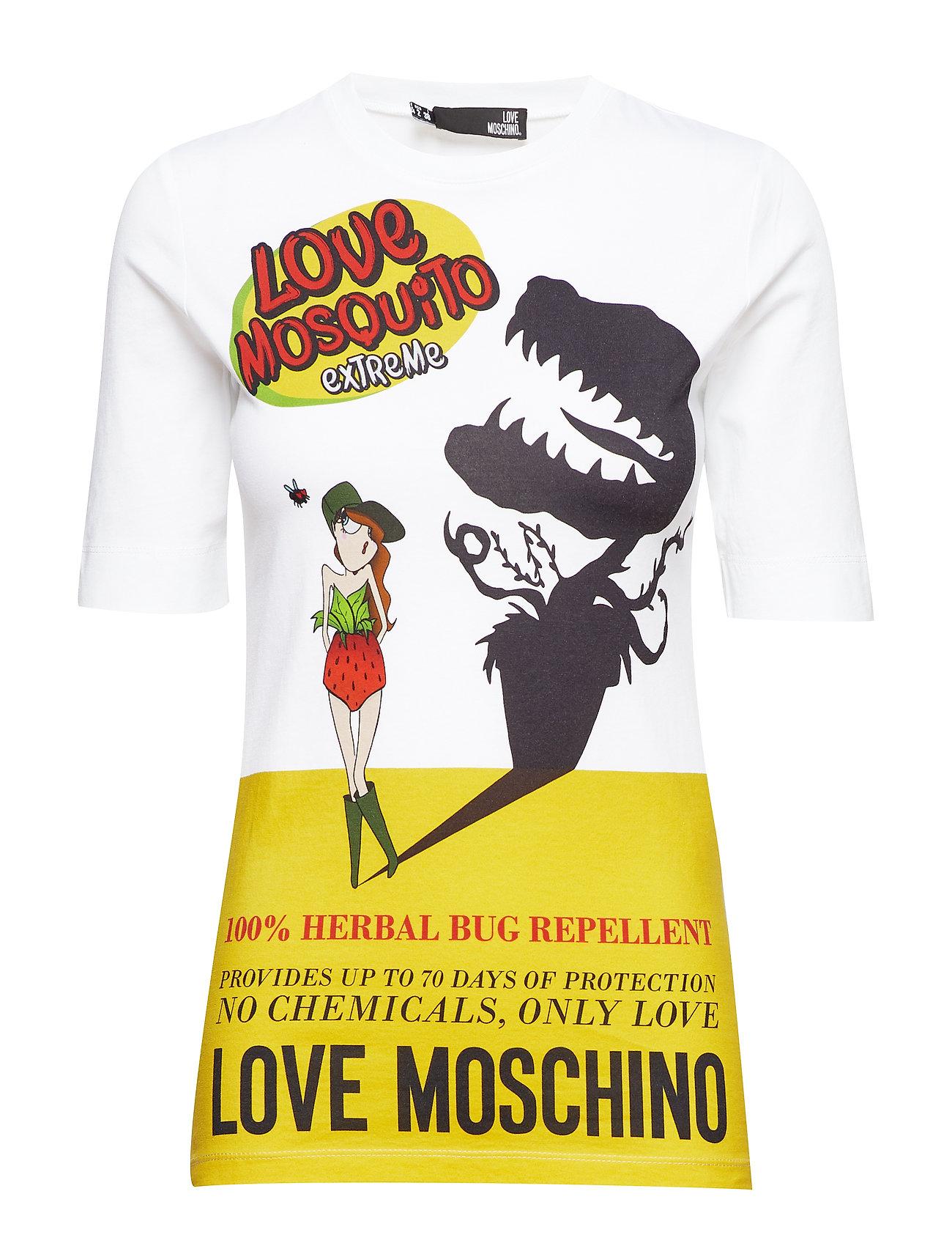 Love Moschino LOVE MOSCHINO-T-SHIRT - WHITE