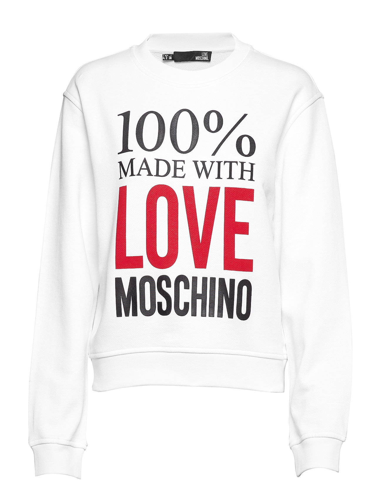Love Moschino LOVE MOSCHINO-SWEATSHIRT - WHITE