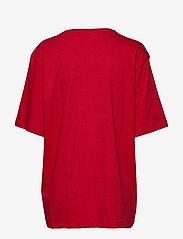 Love Moschino - W4F8728M4083 - t-shirts - red - 1