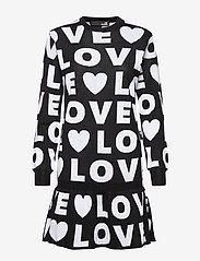 Love Moschino - WSR7610X0377 - lyhyet mekot - black - 1