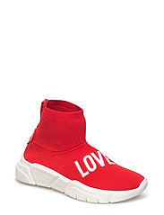 LOVE MOSCHINO SNEAKERS - RED