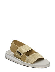 LOVE MOSCHINO SANDAL - GOLD