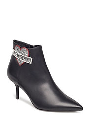 LOVE MOSCHINO ANKLE BOOT - BLACK