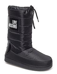 LOVE MOSCHINO SKIBOOT - BLACK
