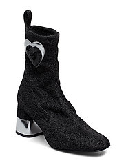 LOVE MOSCHINO SHOES - BLACK