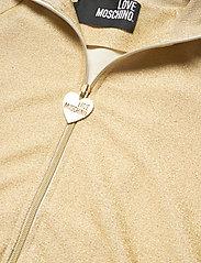 Love Moschino - W337600E2110 - bomber jakker - beige gold - 2