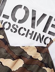 Love Moschino - WVH5301T9796 - midimekot - green cloud - 2