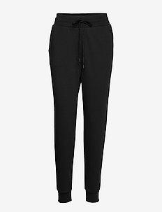 LOVE MOSCHINO TROUSERS - sweatpants - black