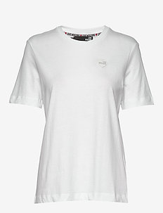 LOVE MOSCHINO T-SHIRT - t-shirts - optical white
