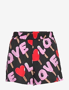 LOVE MOSCHINO SHORTS - casual shorts - pr.ice-cream/black