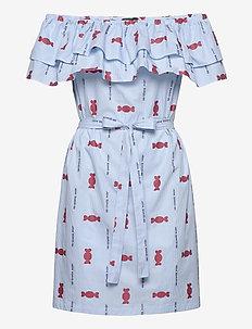 LOVE MOSCHINO DRESS - korte kjoler - logo/sweetmeat