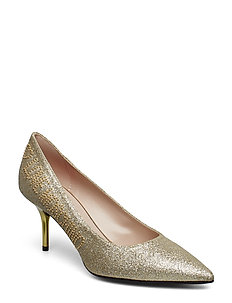 LOVE MOSCHINO SHOES - GLITTER PLATINA