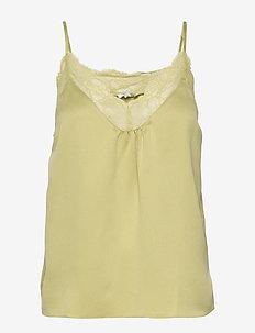 Lynn - bluzki bez rękawów - lime