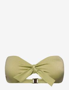 Blossom - bikini bandeau - leaf green