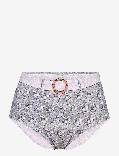 Moonflower - højtaljede bikiniunderdele - dustfl
