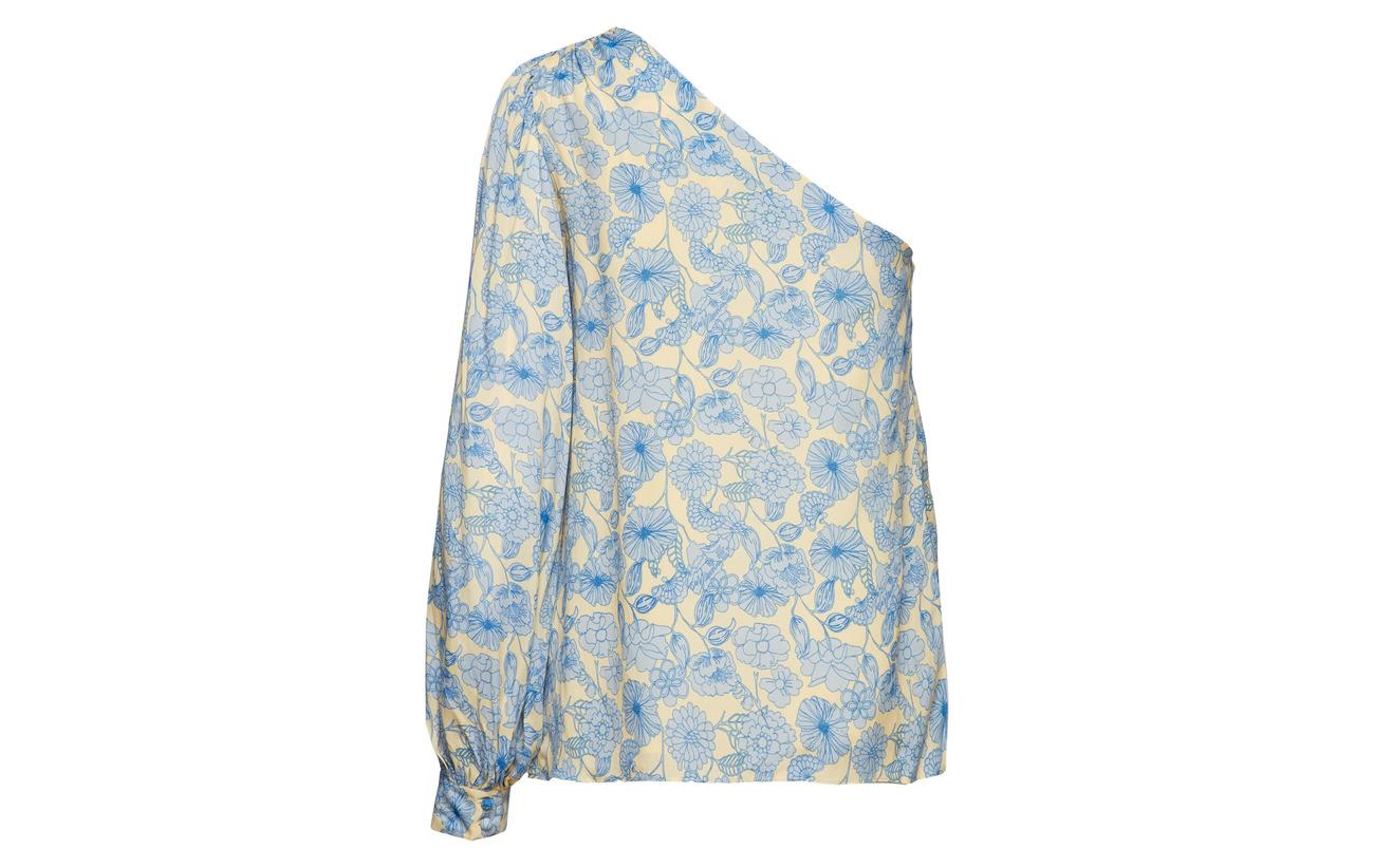 Shirt Soie 60 Lovechild Dusty 1979 Blue Viscose Rida 40 qaEwBz8