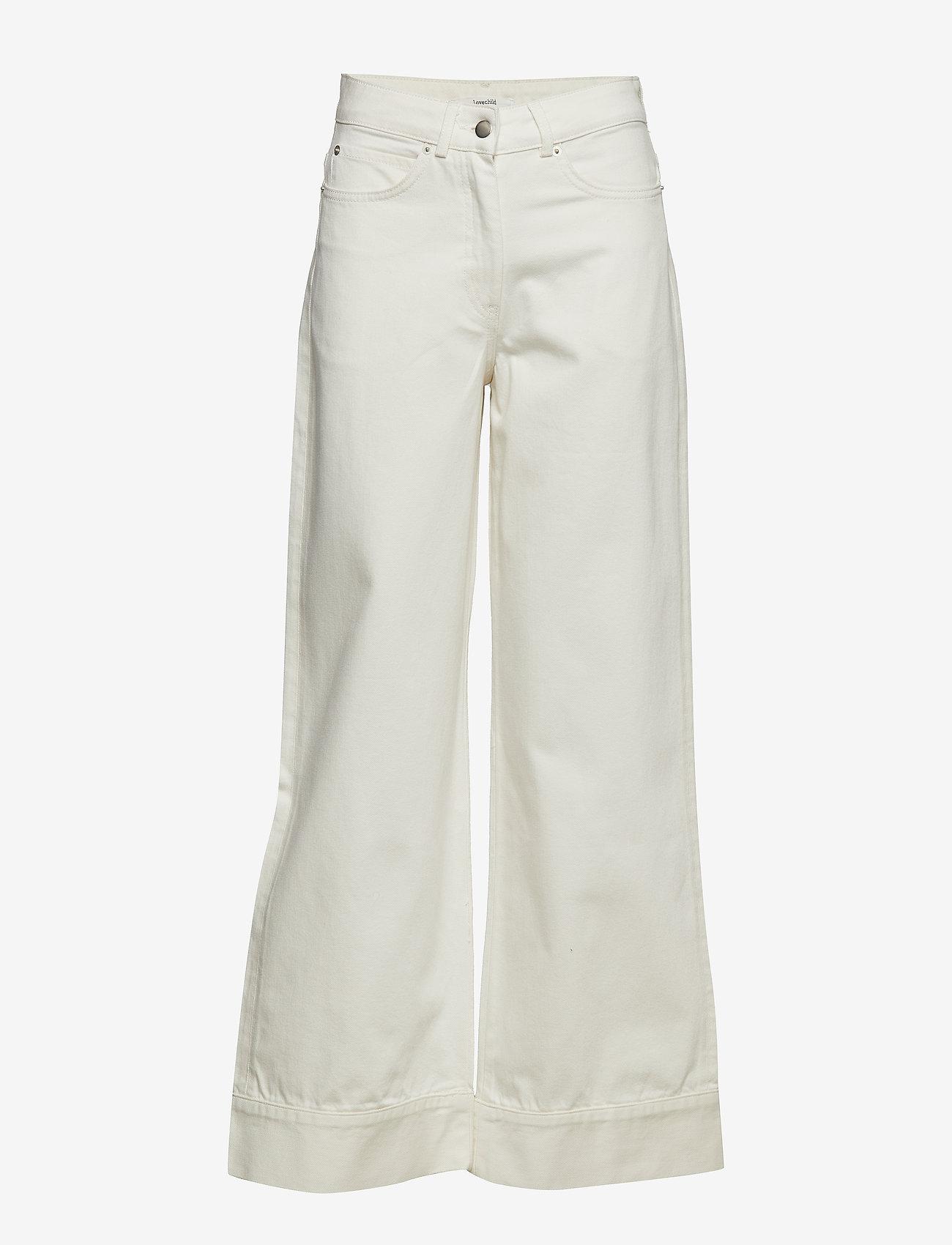 Lovechild 1979 - Harvey Pant - wide leg jeans - white