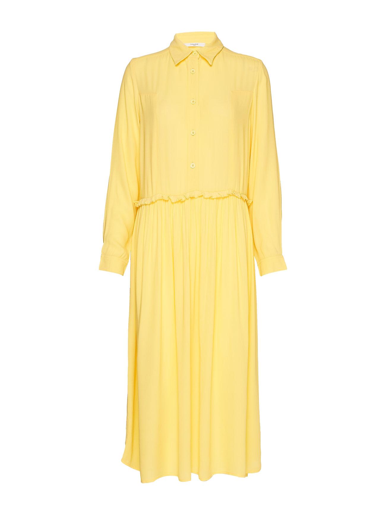 Lovechild 1979 Jolene Dress - PALE BANANA