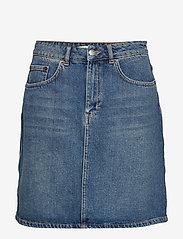 Lovechild 1979 - Katie Skirt - short skirts - heavy washed denim - 0
