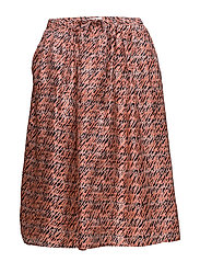 Lorita Skirt - DEEP SEA CORAL