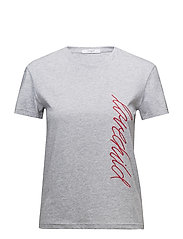 Alma T-shirt - GREY MELANGE