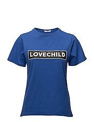 Alyssa T-Shirt - STRONG BLUE