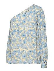 Rida Shirt - DUSTY BLUE