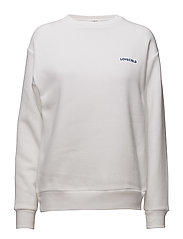Toniah Sweatshirt - WHITE