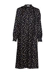 Georgina Dress - BLACK