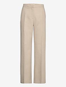 Lea Pant - rette bukser - beige