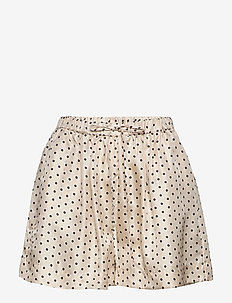 Antonella Shorts - casual shorts - parchment