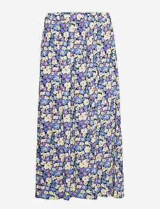 Long Severin Skirt - CHALK VIOLET