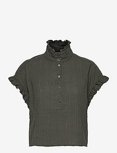 Jordina Top - blouses à manches courtes - forrest night