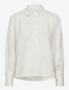 Noah Shirt - långärmade skjortor - white