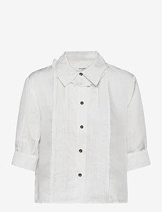 Roma Shirt - kortärmade blusar - white
