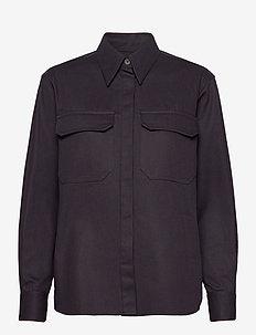 Fay Shirt - langermede skjorter - navy