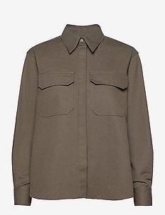 Fay Shirt - langermede skjorter - olive night