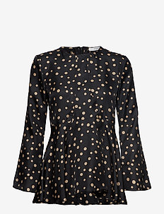 Nadeige Blouse - BLACK