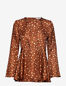 Nadeige Blouse - GINGERBREAD