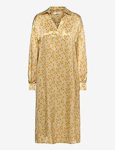 Fiola Dress - robes d'été - lemon curry