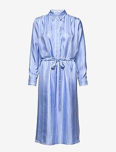 Frida Dress - midi kjoler - boy blue