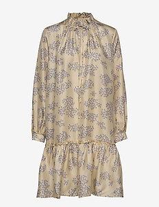 Cheyenne Dress - krótkie sukienki - cloud cream