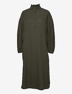 Jordana Dress - robes de jour - forrest night