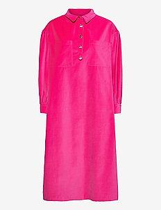 Carin Dress - hverdagskjoler - fushia pink